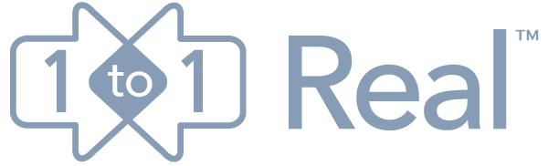 1to1real logo